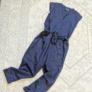 Gap Linen Jumpsuit in Navy